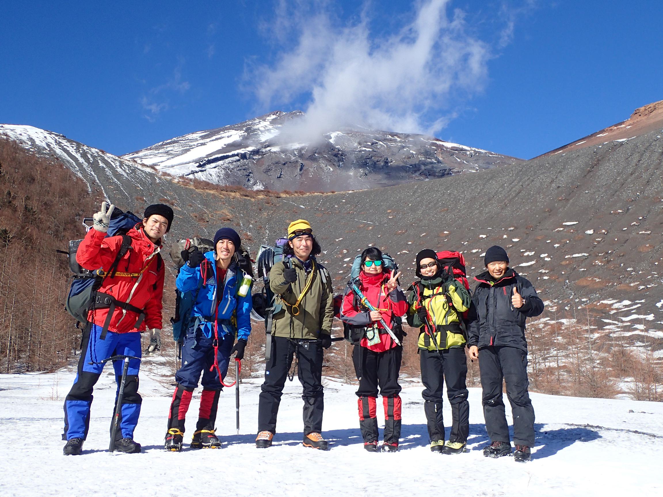 年越し富士山