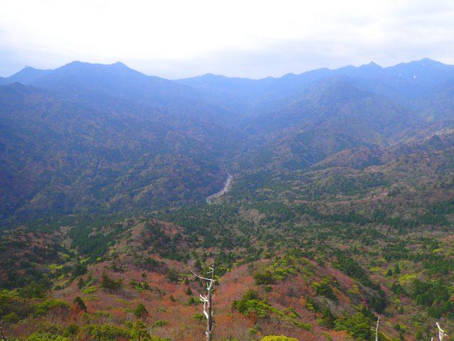 白谷雲水峡 ルート 太鼓岩