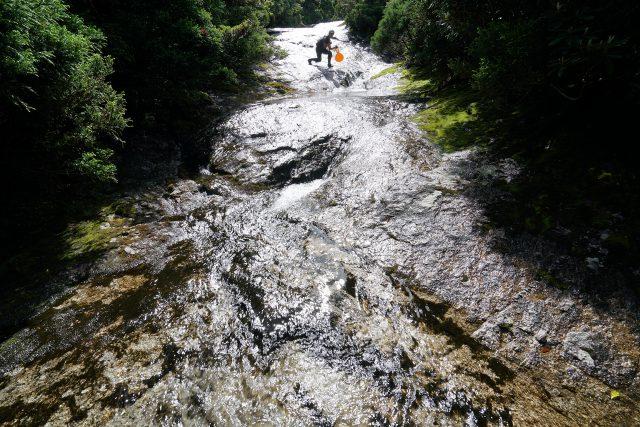 滑床・滑滝