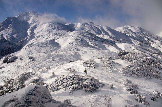 冬山 雪山 登山