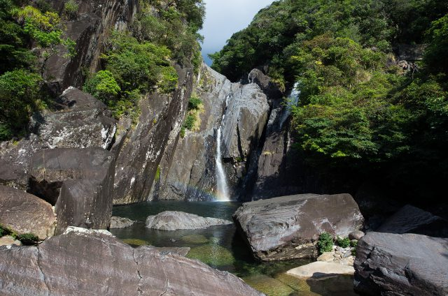 沢登り 鈴川の滝