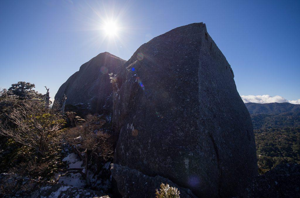 岩峰 登山 ヴァリエーションルート