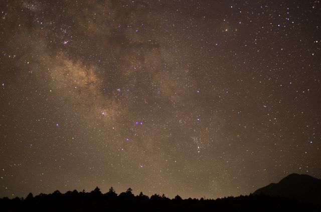 星空観察 天の川