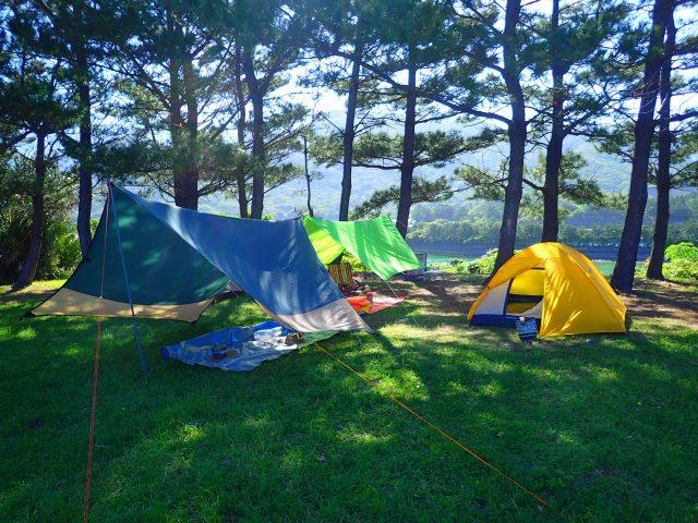 キャンプ 里