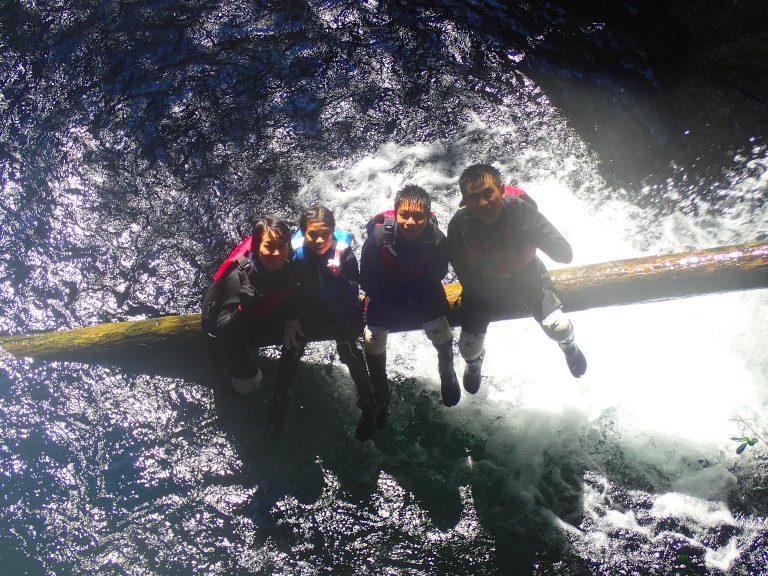 2018年8月8~10日 沢登り&縄文杉トレッキングツアーにご参加の大河原様ご家族