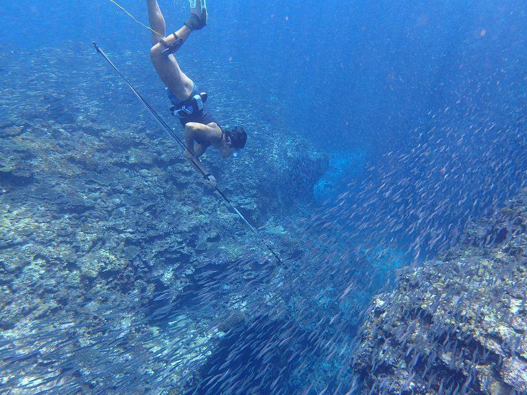 海SUP&素潜り、そしてナイトダイビングへ
