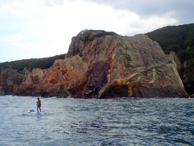 洞窟 海サップ 早埼灯台