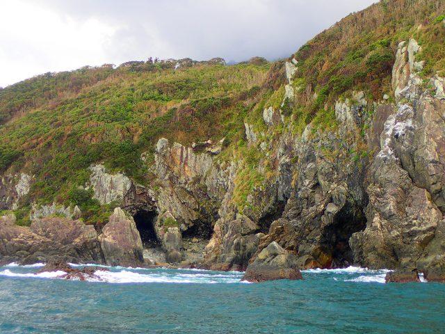 洞窟 海サップ 東海岸